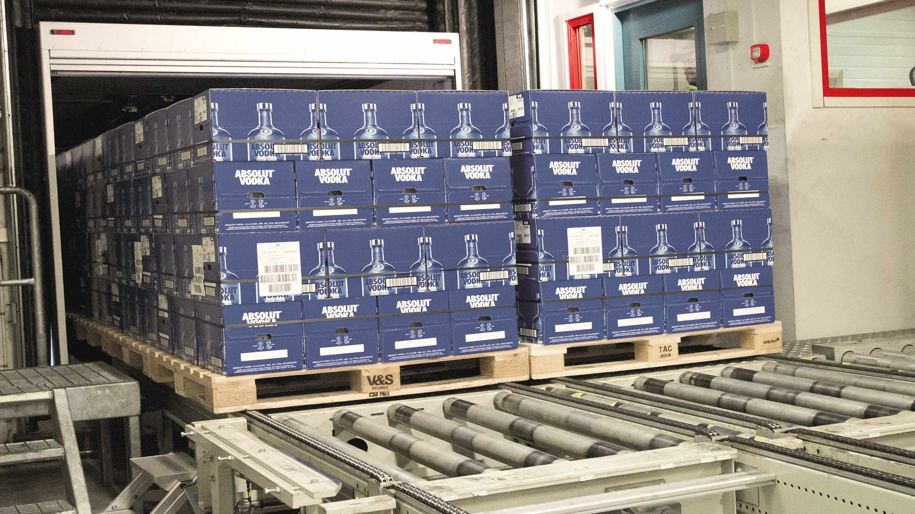 The Absolut Company Scalable Distribution Center