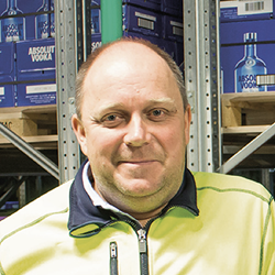The Absolut Company's, Warehouse and Distribution Manager, Harri Tossavainen