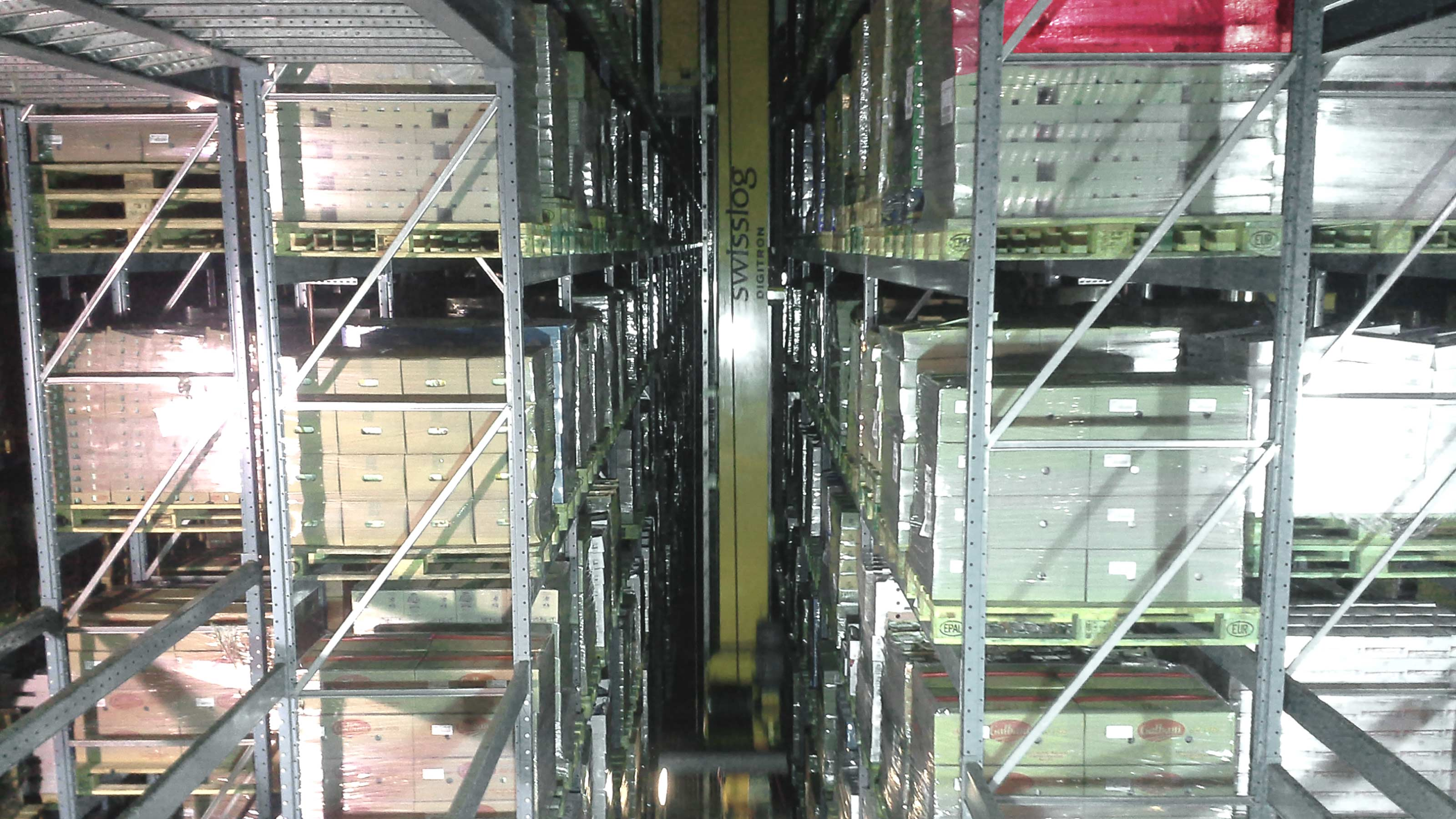 Galbani Temperature Controlled Warehouse Automation Swisslog