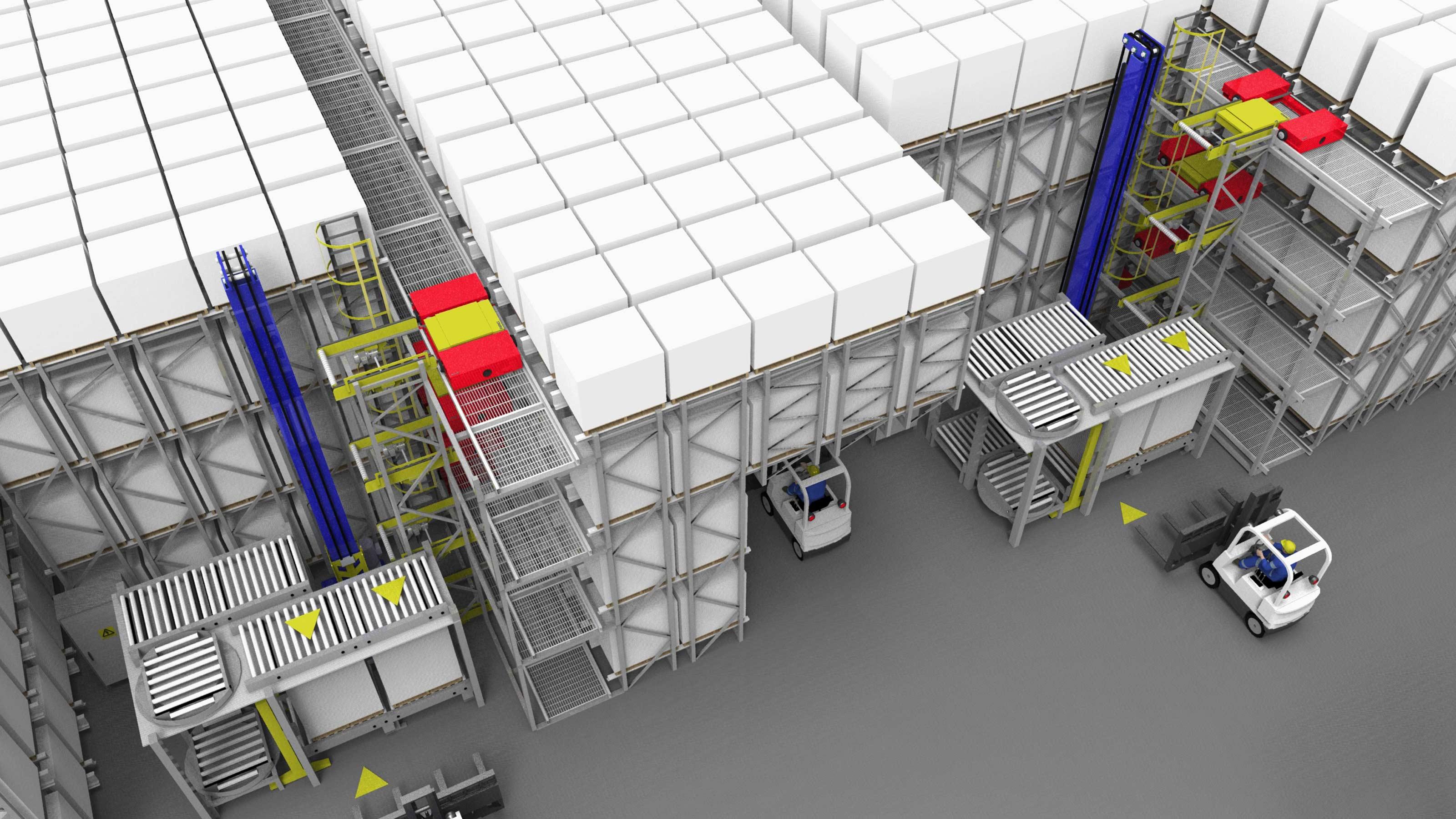 Pepsi Bottling Ventures Powerstore Dc Automation Swisslog