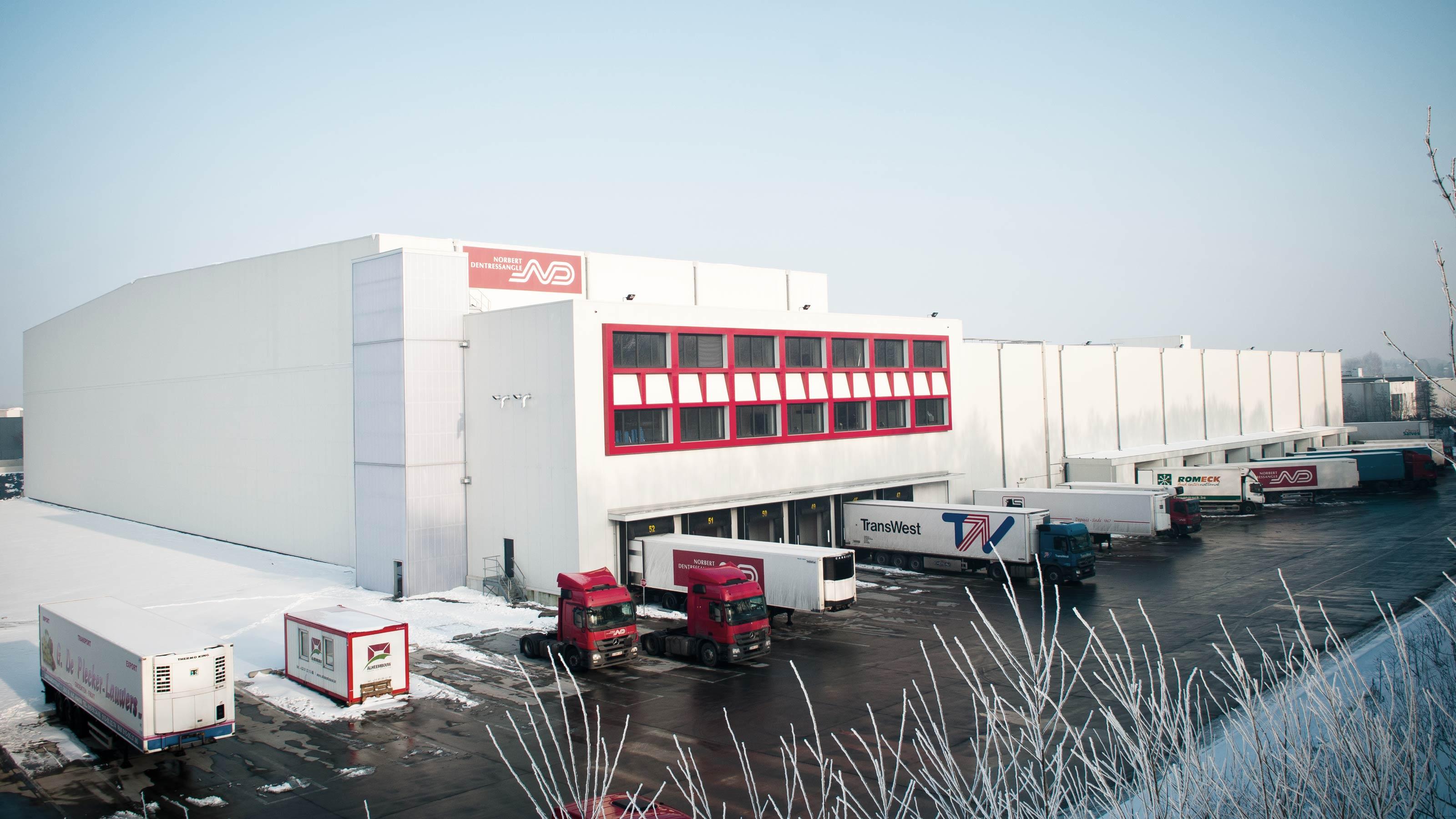 Xpo Logistics Norbert Dentressangle Frozen Food Swisslog