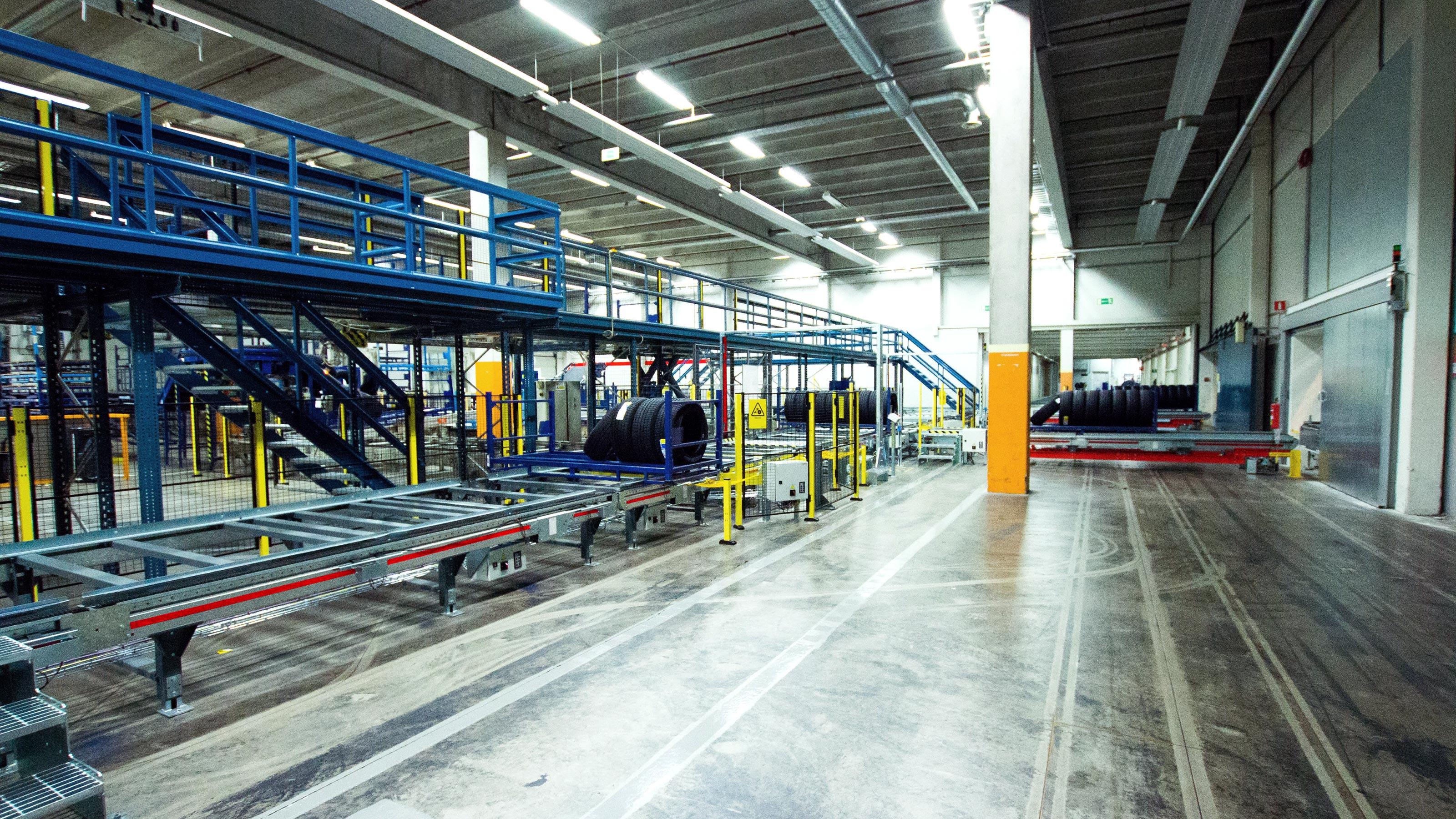 Michelin Customer Focused Modernization Sweden Swisslog