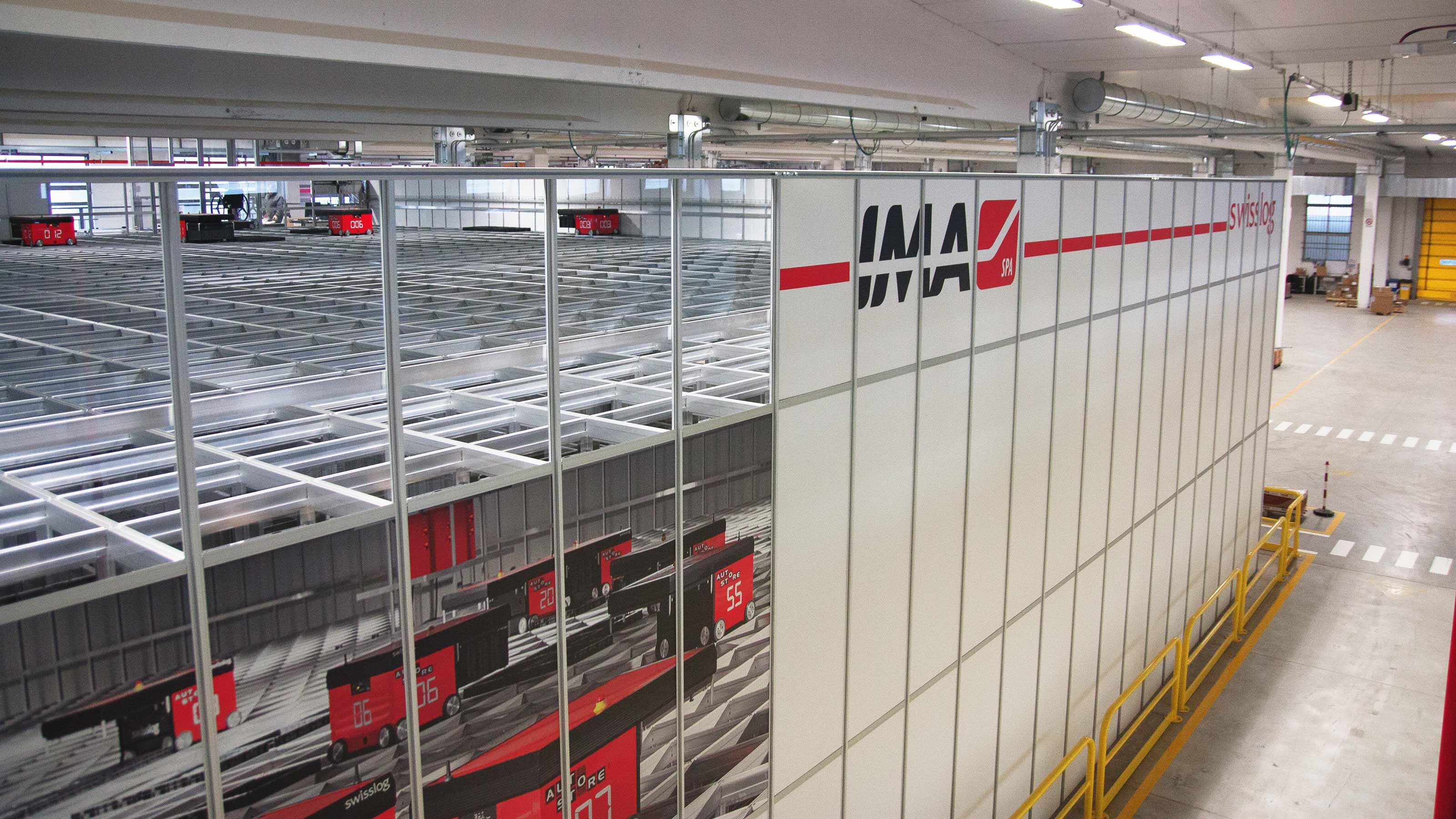 Ima Packaging Machinery Warehouse Automation Swisslog