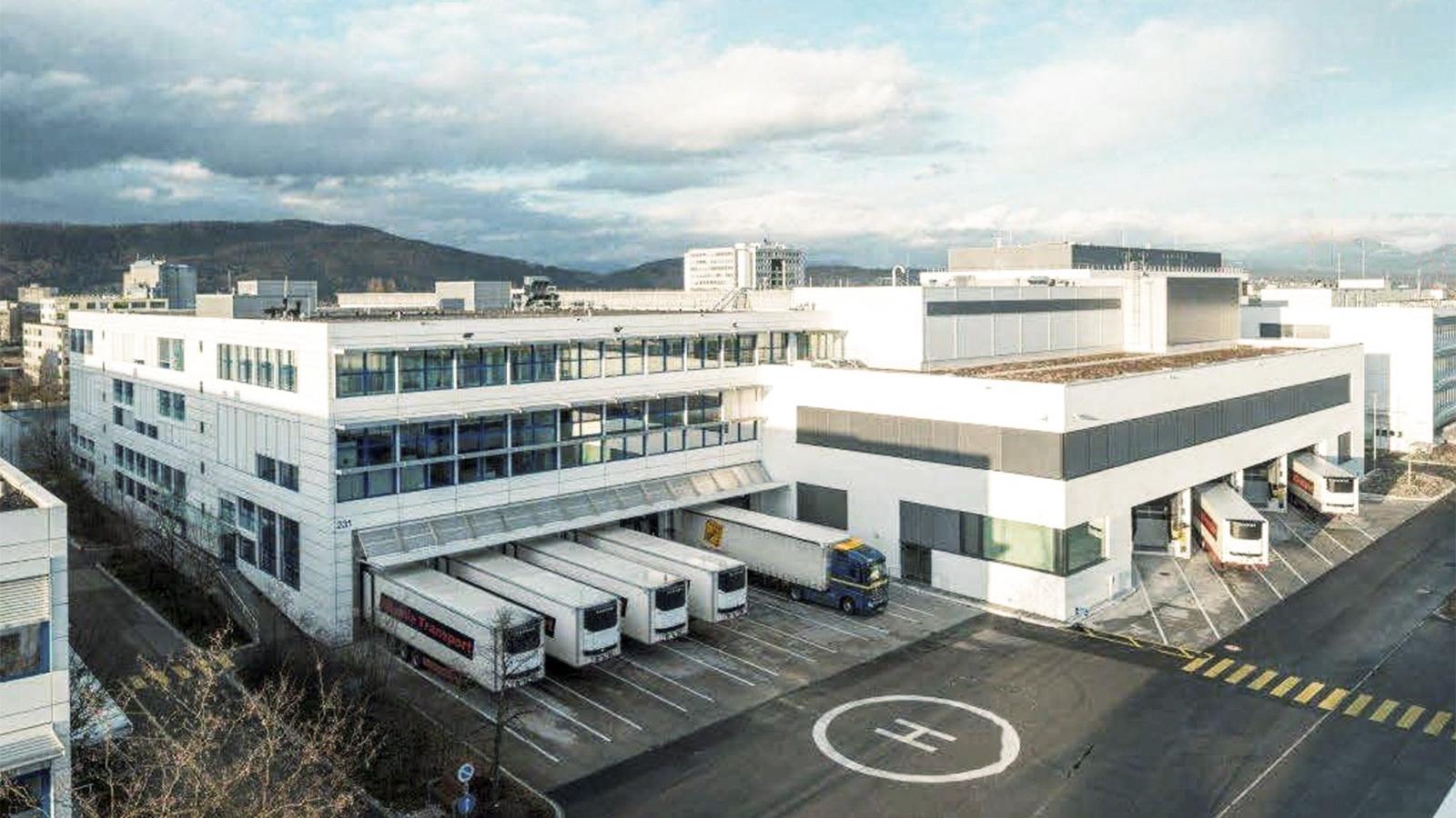 Hoffmann-La Roche pharmaceutical warehouse | Swisslog