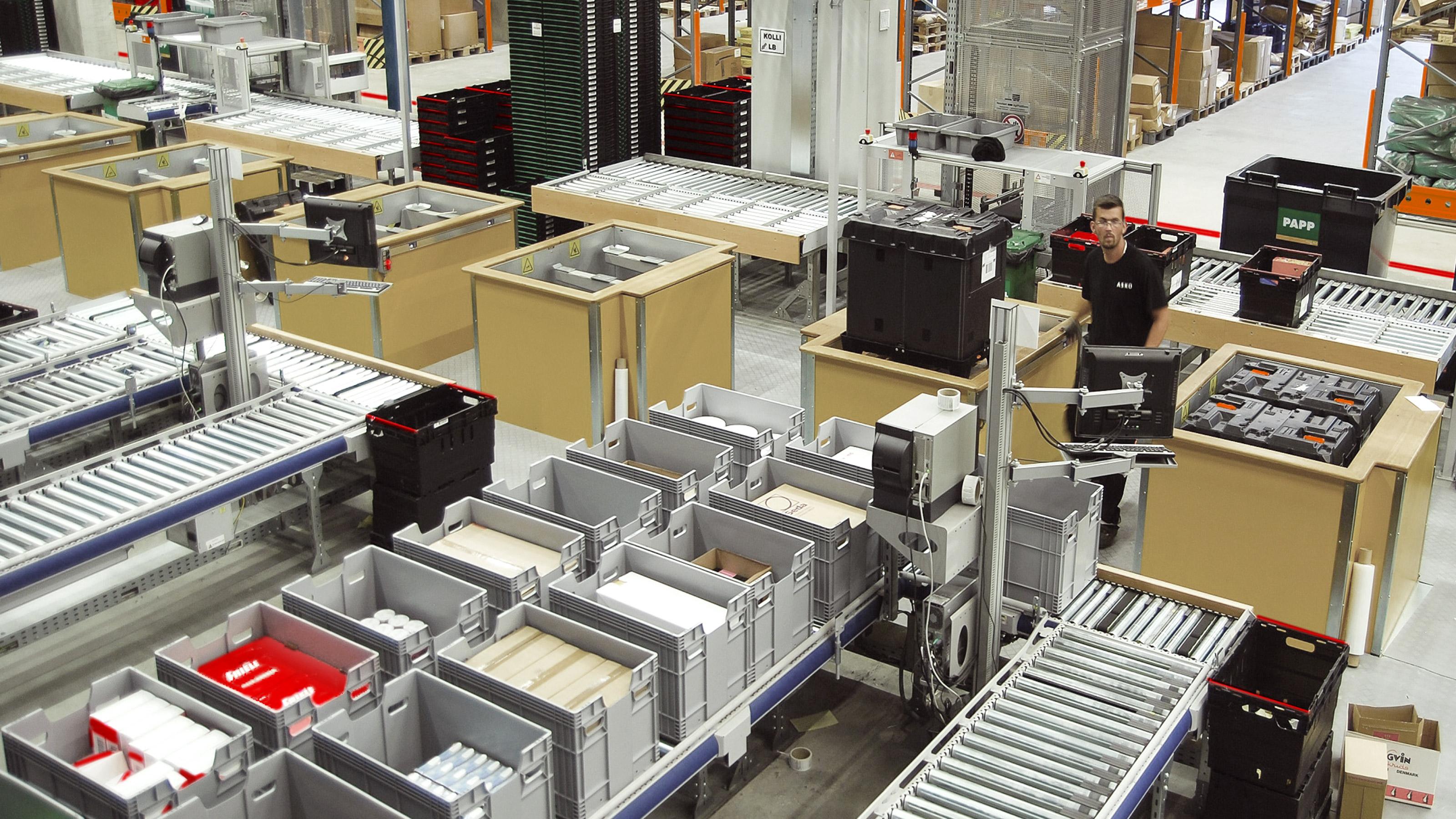 Efficient Material Flow At Asko Distribution Center Swisslog