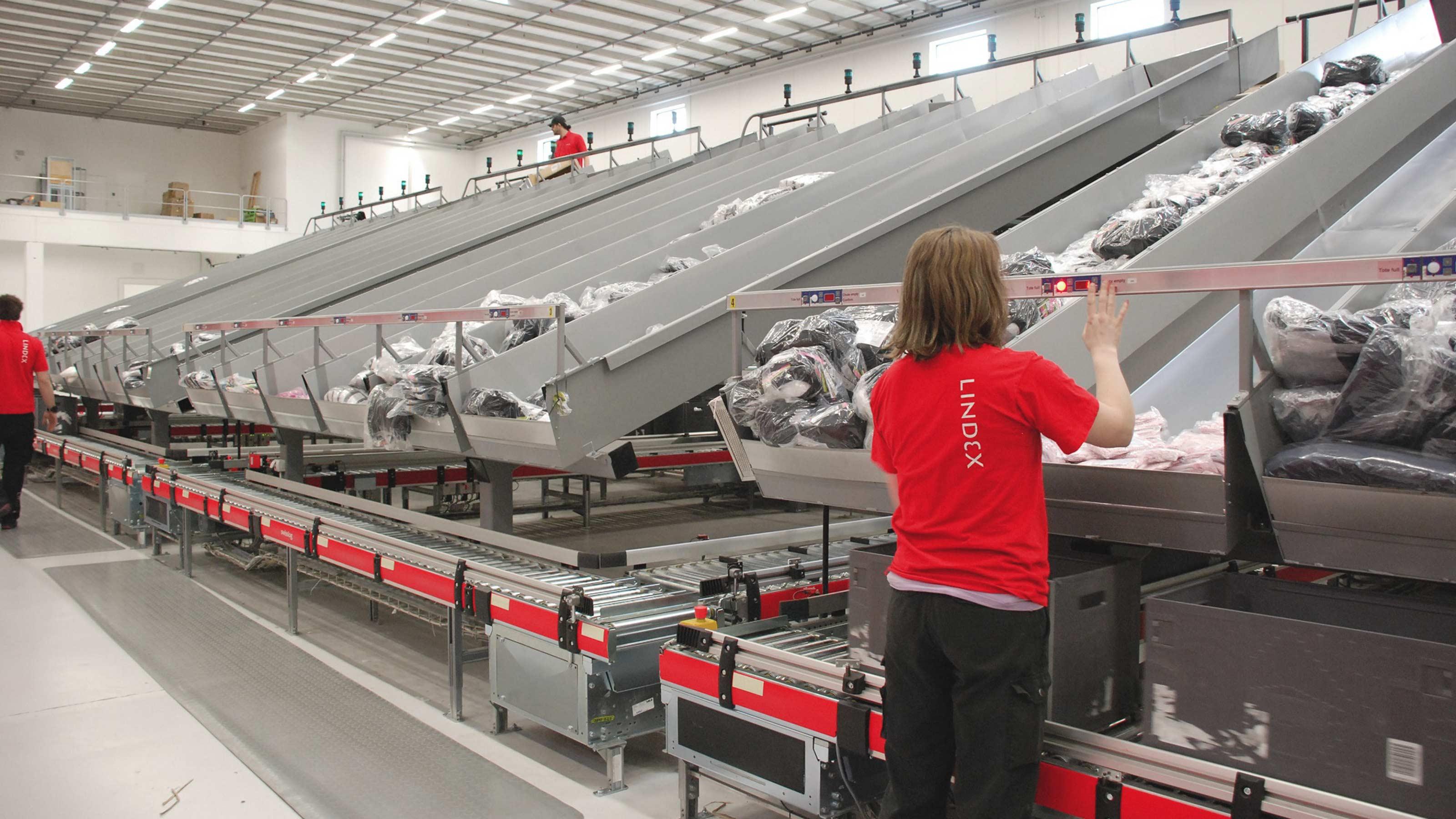 Lindex Fashion Retailer Automated Logistics Swisslog