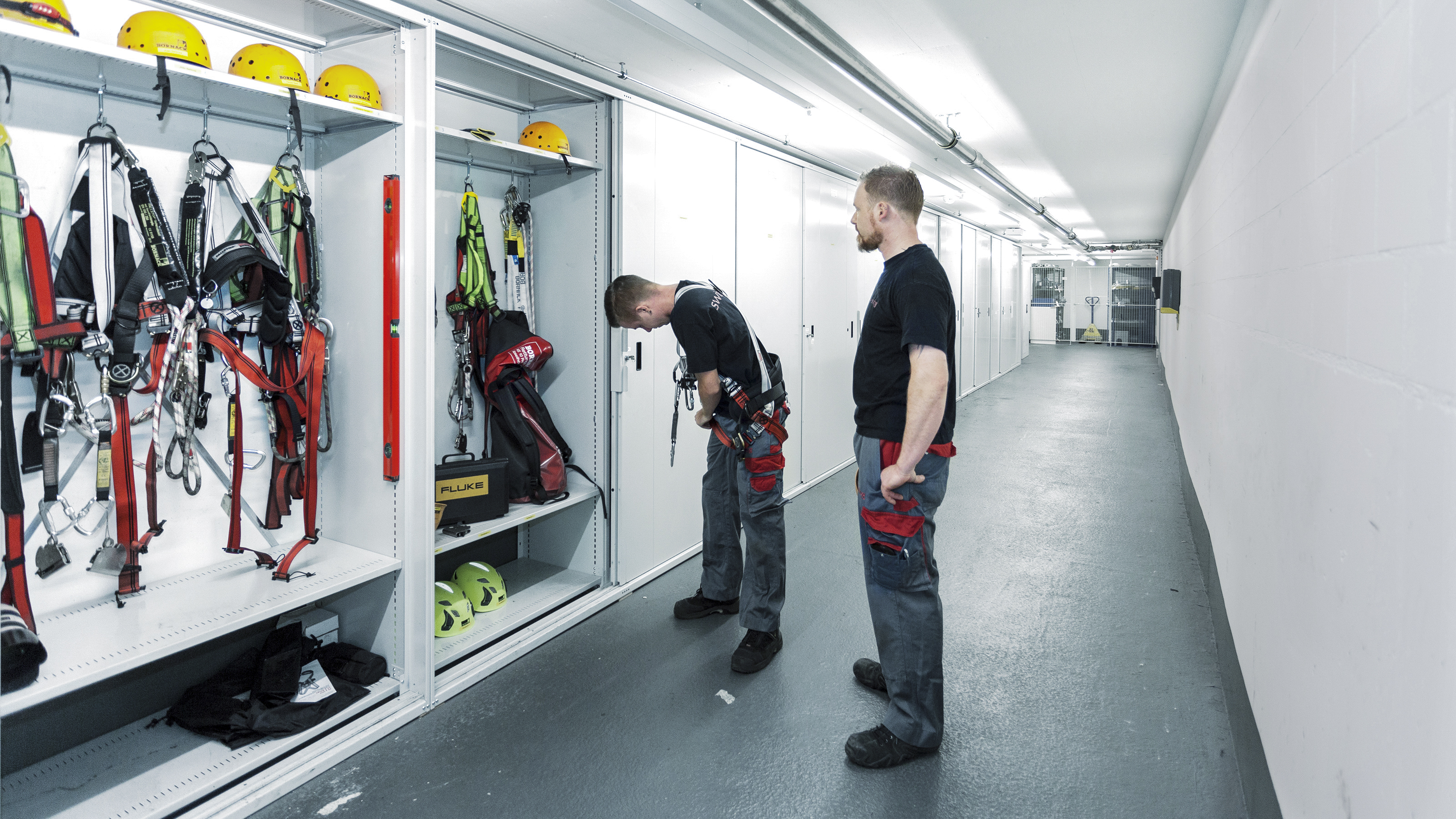 On-site warehouse automation safety training from Swisslog at AMAG