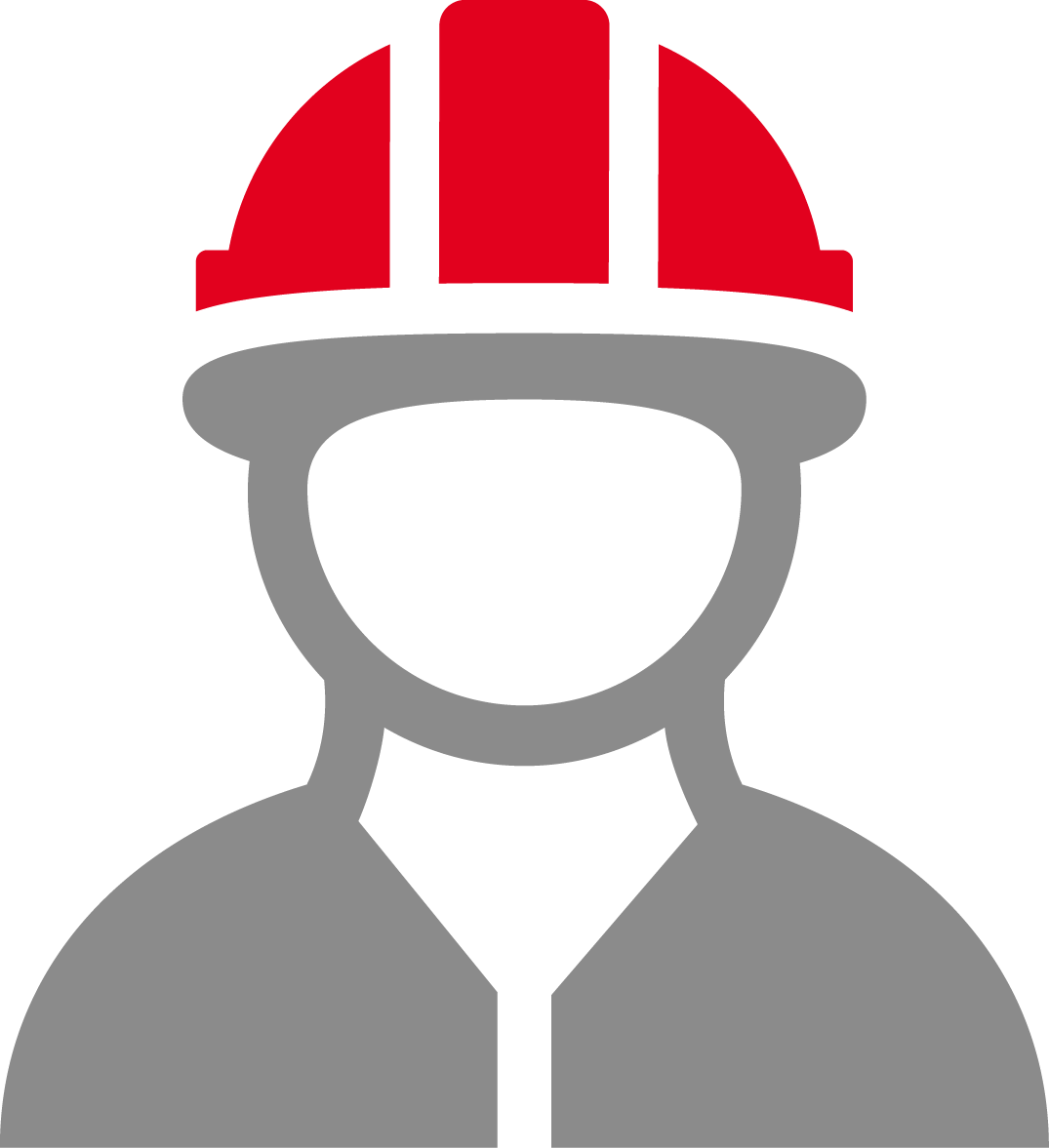 Human with helmet