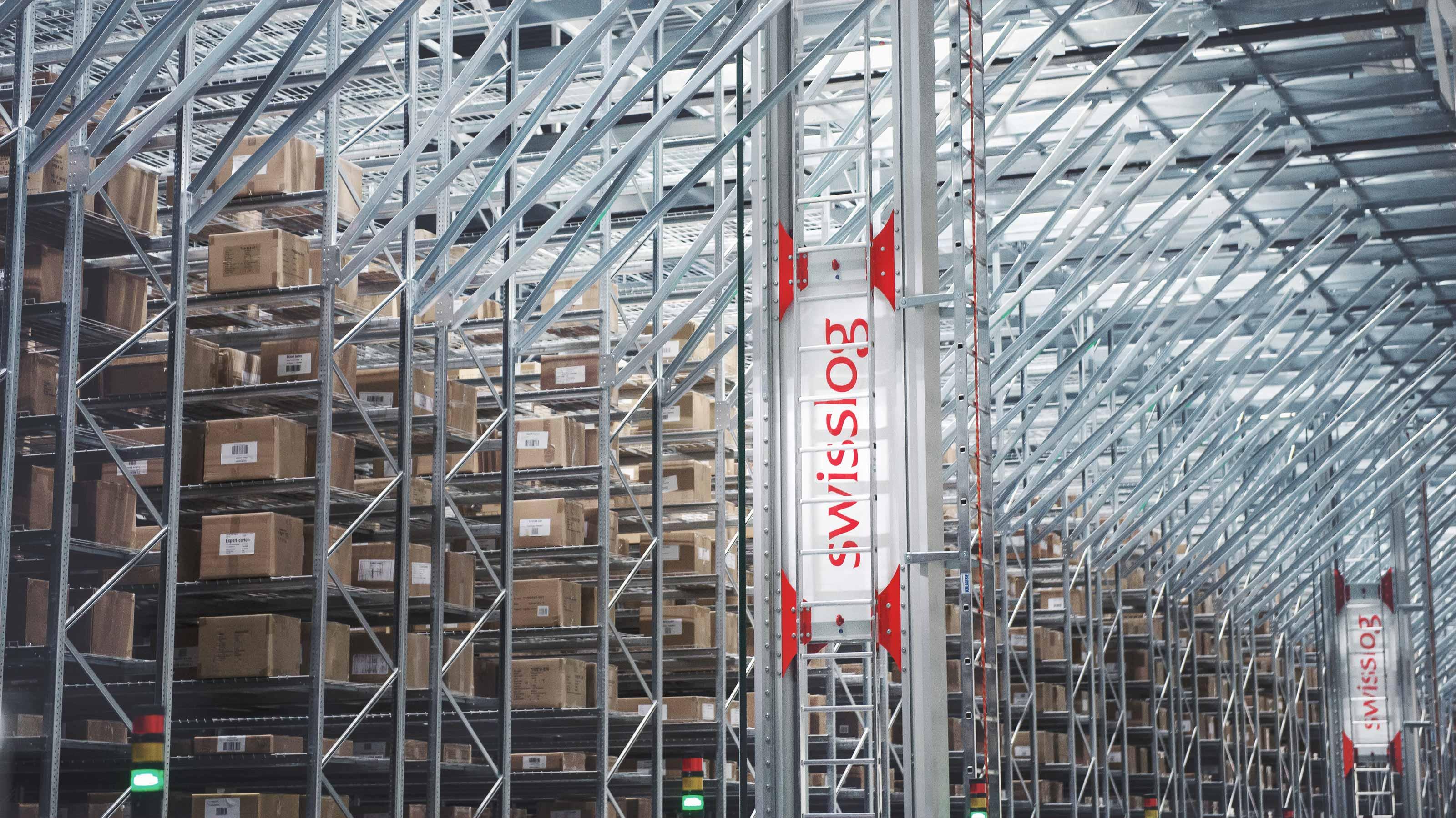 ASRS Automated Storage & Retrieval Systems | Swisslog