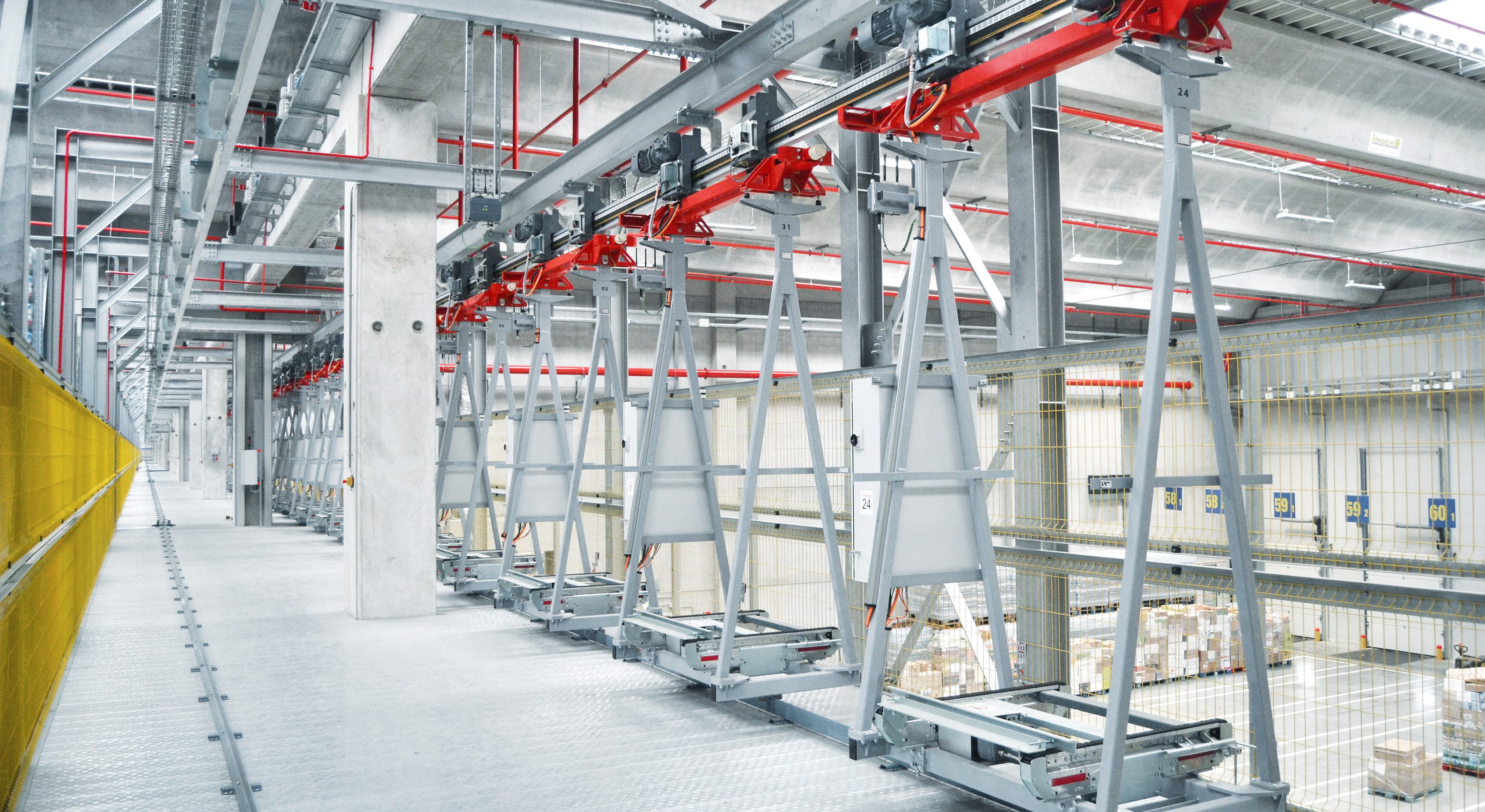 Swisslog Monorail Fast And Efficient Pallet